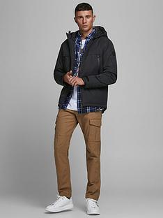 jack-jones-hooded-zip-through-jacket-black