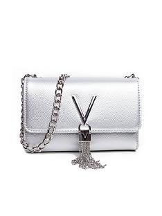 valentino-by-mario-valentino-divina-clutch-cross-body-bag-silver