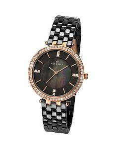 accurist-black-mother-of-pearl-and-diamond-dial-with-crystal-set-rose-gold-bezel-and-black-ceramic-bracelet-ladies-watch-black
