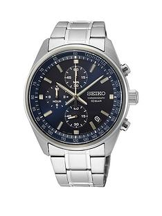 seiko-blue-sunray-chronograph-dial-stainless-steel-bracelet-mens-watch