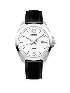 seiko-seiko-silver-date-dial-black-leather-strap-mens-watch