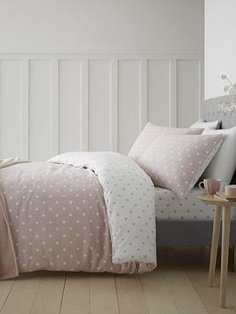 catherine-lansfield-brushed-cotton-spot-duvet-cover-set