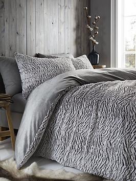 catherine-lansfield-faux-fur-wolf-duvet-cover-set