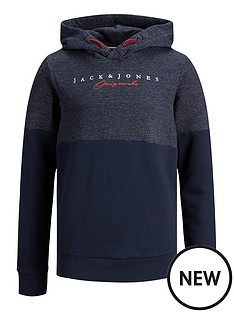 jack-jones-boys-colourblock-logo-hoodie-navy
