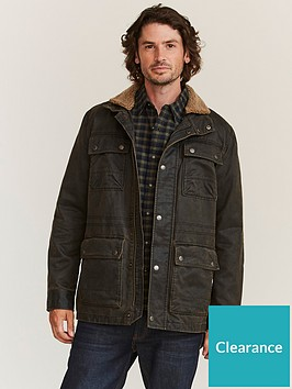 fatface-broadsands-wax-field-jacket-brownnbsp