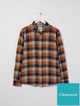 fatface-watton-check-shirt-orange