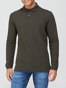 barbour-long-sleeve-sports-polo-dark-green