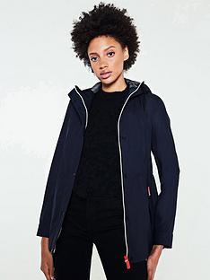 hunter-original-lightweight-rubberised-jacket-navy