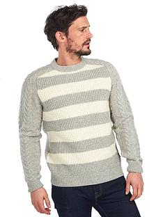 barbour-elver-cable-crew-jumper-ecrumarl