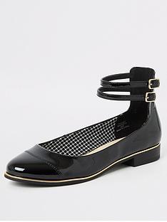 river-island-ankle-strap-ballet-shoe-black