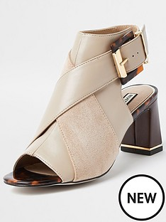 river-island-buckle-detail-shoe-boot-beige