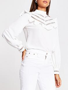 river-island-ruffle-panel-blouse-white