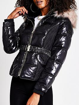 river-island-fitted-padded-jacket-black