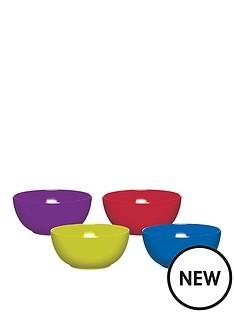 colourworks-brights-melamine-bowls-ndash-set-of-4