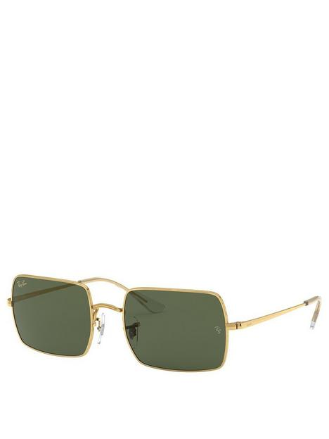 ray-ban-0rb1969-rectangle-sunglasses-gold