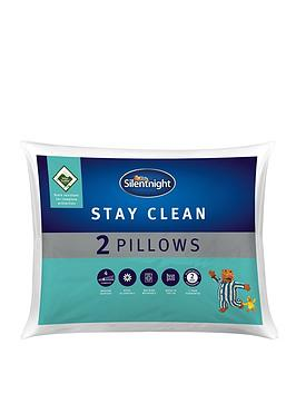 silentnight-stay-clean-pillow