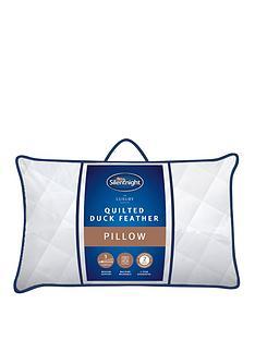 silentnight-silentnight-luxury-quilted-duck-feather-pillow