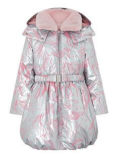 monsoon-girls-metallic-unicorn-print-padded-coat-silver