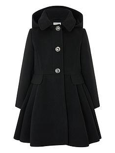 monsoon-girls-skirted-coat-with-hood-black