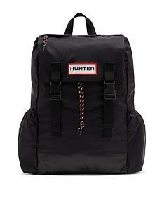 hunter-original-riptop-packable-backpack-black