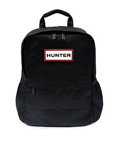 hunter-original-nylon-backpack-black
