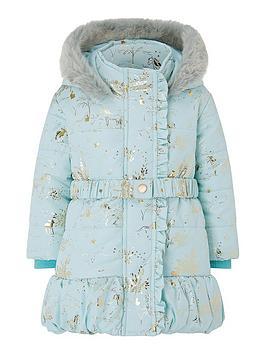 monsoon-baby-girls-foil-padded-coat-aqua