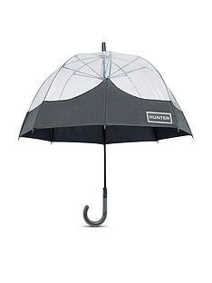 hunter-original-bubble-glitter-clear-umbrella-black