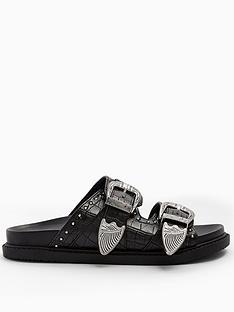 topshop-wide-fit-peru-footbed-sandal-with-stud-details-black