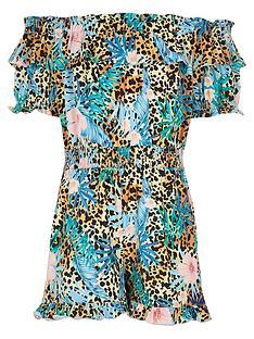 river-island-girls-bardot-tropic-leopard-playsuit--nbspmulti