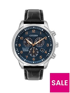 citizen-citizen-blue-and-rose-detail-chronograph-dial-black-leather-strap-mens-watch