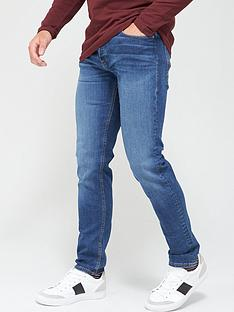 jack-jones-mike-regularnbspfit-washed-jeans-mid-blue