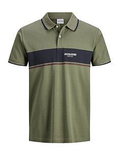 jack-jones-jack-amp-jones-shaker-polo-shirt-green