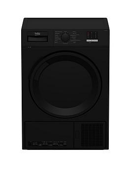 beko-dtlce70051b-7kg-load-full-size-condenser-sensor-dryer-black