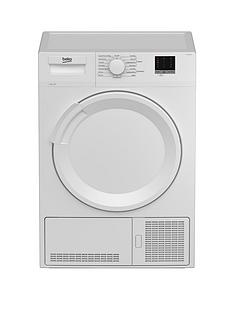 beko-dtlce80051w-8kg-load-full-size-condenser-sensor-tumble-dryer-white