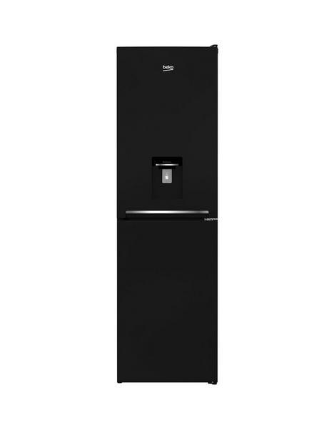 beko-cfg3582db-545cm-frost-free-fridge-freezer-with-water-dispenser-black