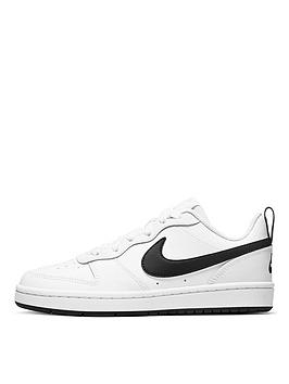 nike-court-borough-low-2-junior-trainer-white-black