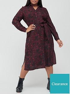 v-by-very-curve-printed-shirt-dress-multi