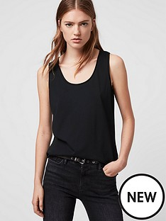 allsaints-emelyn-tonic-tank-black