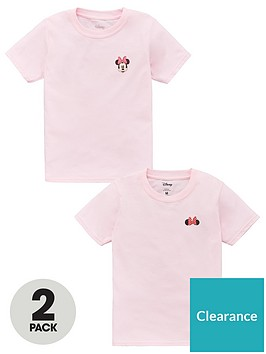 minnie-mouse-girls-disneynbsp2-pack-motif-t-shirts-pink