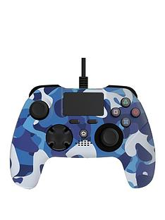 x-rocker-x-rocker-gaming-ps4-wired-controller-blue-camo