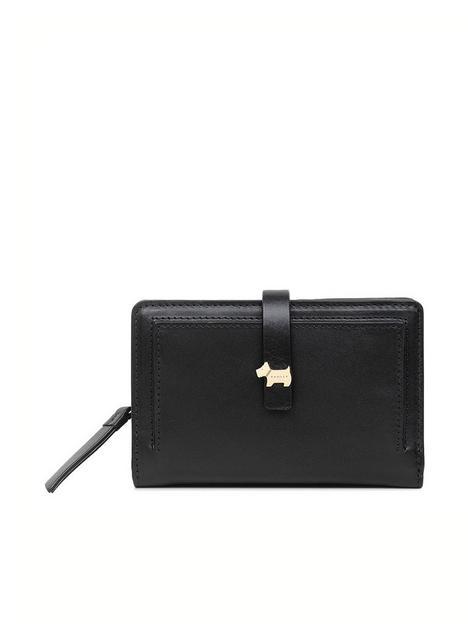 radley-newick-road-leather-medium-bifold-purse-black