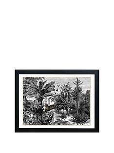east-end-prints-botanist-leopard-a3-framed-wall-artnbsp