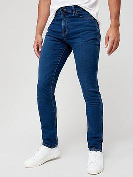 very-man-super-comfort-slim-knitted-jeans-mid-wash