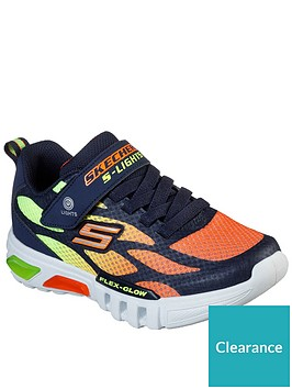 skechers-boys-flex-glow-trainer-multi