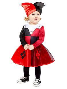 dc-super-hero-girls-harley-quinn-toddler-costume