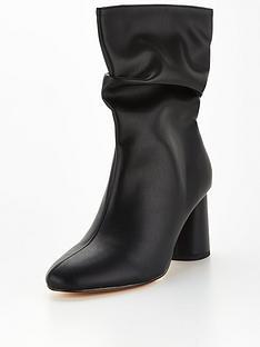 public-desire-marshmallow-calf-boot-black
