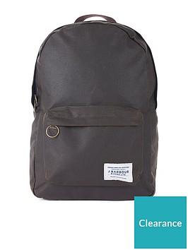 barbour-eadan-waxed-backpack-olive