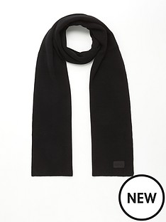 barbour-sensor-scarf-black