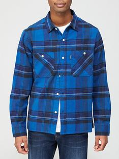 penfield-cordan-check-overshirt-blue
