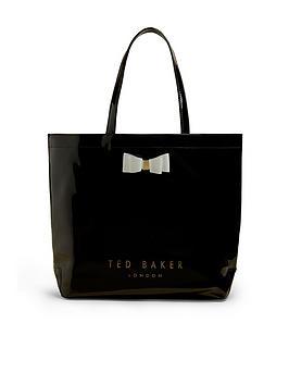 ted-baker-bow-large-icon-shopper-black